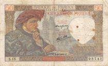 France 50 Francs Jacques Coeur - 05-09-1940 Série S.15 - TB