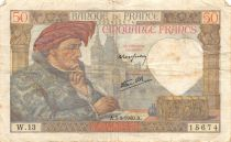 France 50 Francs Jacques Coeur - 05-09-1940 Série W.13 - TTB
