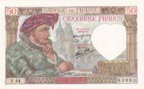 France 50 Francs Jacques Coeur - 13-03-1941 Série F.44 - SPL