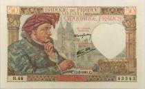 France 50 Francs Jacques Coeur - 13-03-1941 Série H.44 - SUP+