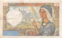 France 50 Francs Jacques Coeur - 13-06-1940 Série A.8 - TB
