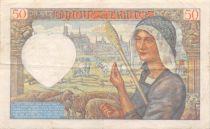 France 50 Francs Jacques Coeur - 13-06-1940 Série B.10 - TB
