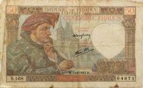France 50 Francs Jacques Coeur - 15-05-1942 Série S.168 - TB