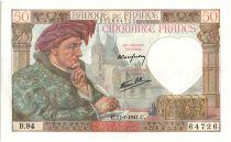 France 50 Francs Jacques Coeur - 17-07-1941 Série B.94