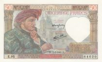 France 50 Francs Jacques Coeur - 17-07-1941 Série E.95