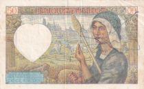 France 50 Francs Jacques Coeur - 17-07-1941 Série P.93 - TTB