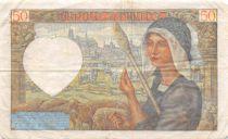 France 50 Francs Jacques Coeur - 18-12-1941 Série D.148 - TTB
