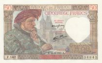 France 50 Francs Jacques Coeur - 18-12-1941 Série F.142