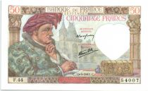France 50 Francs Jacques Coeur - 1941