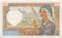 France 50 Francs Jacques Coeur - 20-11-1941 Série F.141 - TTB