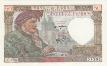 France 50 Francs Jacques Coeur - 20-11-1941 Série G.136