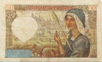 France 50 Francs Jacques Coeur - 23-01-1941 Série Q.28 - TTB