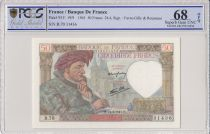 France 50 Francs Jacques Coeur - 24-04-1941 Serial B.70-  PGGS 68 OPQ