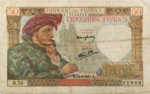 France 50 Francs Jacques Coeur - 24-04-1941 Série R.70 - TTB