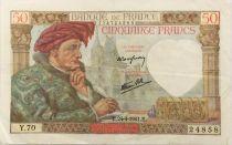 France 50 Francs Jacques Coeur - 24-04-1941 Série Y.70 - TTB