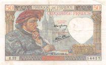 France 50 Francs Jacques Coeur - 26-09-1940 Série E.22 - TTB