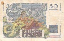 France 50 Francs Le Verrier - 01-02-1951 - Série D.174 - TB