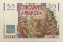 France 50 Francs Le Verrier - 03-11-1949 Série O.144 - SUP