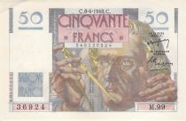 France 50 Francs Le Verrier - 08-04-1948 - Série M.99 - SUP