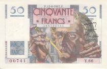 France 50 Francs Le Verrier - 12-06-1947 - Série Y.66 - PSUP