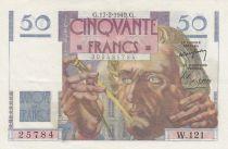 France 50 Francs Le Verrier - 17-02-1949 Série W.121- SUP