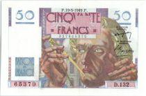 France 50 Francs Le Verrier - 19-05-1949 Série D.132