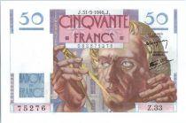 France 50 Francs Le Verrier - 1946 - Z.33