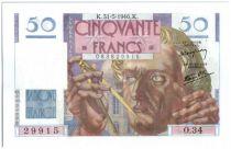 France 50 Francs Le Verrier - 1946