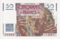 France 50 Francs Le Verrier - 28-03-1946 Série D.4