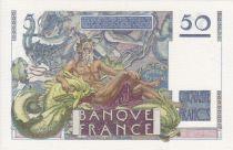 France 50 Francs Le Verrier - 28-03-1946 Serial D.4