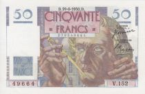 France 50 Francs Le Verrier - 29-06-1950 Série V.152
