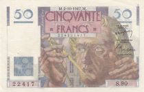 France 50 Francs Leverrier - 02-10-1947 - Série S.90