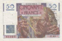 France 50 Francs Leverrier - 03-10-1946 - U.40