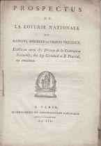 France 50 Francs Loterie de la Convention- 29 Germinal An 3 (1795) et Prospectus