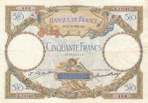 France 50 Francs Luc Olivier Merson - 06-10-1932 Série K.11141 - TTB