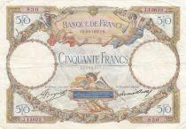 France 50 Francs Luc Olivier Merson - 08-06-1933