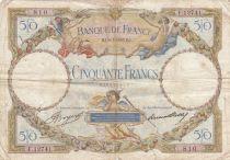 France 50 Francs Luc Olivier Merson - 09-03-1933 Série F.12741