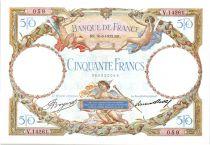 France 50 Francs Luc Olivier Merson - 10-08-1933 Série V.14261