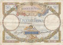 France 50 Francs Luc Olivier Merson - 12-01-1933 Série U.12112
