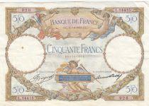 France 50 Francs Luc Olivier Merson - 12-10-1933
