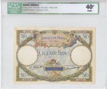 France 50 Francs Luc Olivier Merson - 1928