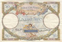 France 50 Francs Luc Olivier Merson - 24-10-1928
