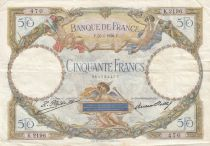 France 50 Francs Luc Olivier Merson - 26-04-1928