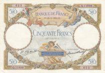 France 50 Francs Luc Olivier Merson - 29-12-1932 Série Q.11898 - SUP