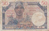 France 50 Francs Mercure, Trésor Français - 1947 - Série F.2