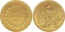 France 50 Francs Or Génie - 1878 A Paris