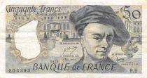 France 50 Francs Quentin de la Tour - 1976 Serial F.2 - F+