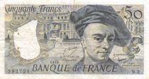 France 50 Francs Quentin de la Tour - 1976 Série N.2 - TB