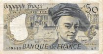 France 50 Francs Quentin de la Tour - 1977 Serial A.9 - F+