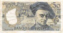 France 50 Francs Quentin de la Tour - 1977 Série C.4 - TB